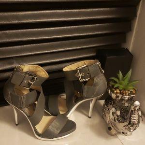 Michael Kors grey high heels
